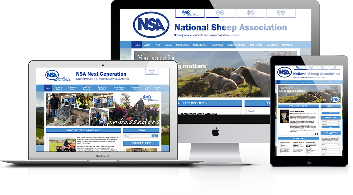 National Sheep Association Responsive Display